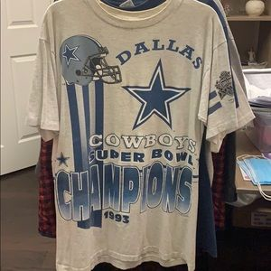 Dallas Cowboys 1993 Super Bowl Champs Tee